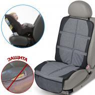 Захисний килимок для автомобільного сидіння Bugs сірий