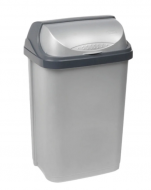 Контейнер для мусора Keeeper Rolltop 25 л Серебро