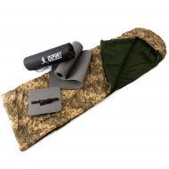 Набір килимок туристичний/спальник/сидушка OSPORT n-0016 Lite Зима