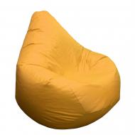 Кресло Груша Kmeshok Стандарт 130×90 см Желтый
