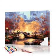 Картина по номерам ArtSale Парк в Нью Ёрке PBN0607 40х50 см