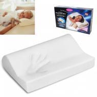 Подушка ортопедическая Memory Pillow Белая