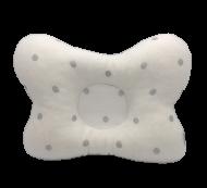 Подушка ортопедическая Сладкий Сон Горох 18х30 см Серебристый