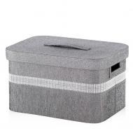 Коробка для зберігання з кришкою Home&You Assunto розмір M