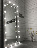 Зеркало с подсветкой Markson Cardea M604 Белый