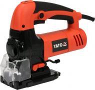Електролобзик YATO YT-82273 з системою здування тирси