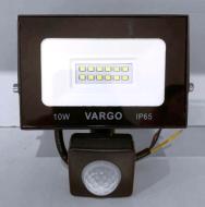 LED прожектор c датчиком руху VARGO 10W 220V 6500K