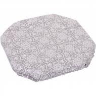 Подушка для стула La Nuit Агата Кружево 33х33 см Капучино