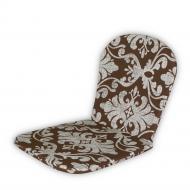 Матрац на стілець Кедр на Лівані Light 78х40х2 см Коричневий