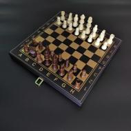 Набор шахматы/шашки/нарды Zoocen 40x40 см 3в1 (ZC4008)