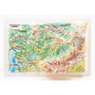 Карта Казахстан Testplay магнит 3D Mini 15x10 см