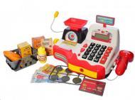 Дитячий ігровий касовий апарат з калькулятором і мікрофоном (704364778)