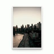 Постер в рамке Нью-Йорк 40x50 см