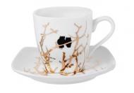 Чашка Lefard Золотые Сови 75 мл (924-657)