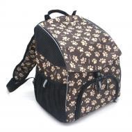 Рюкзак для перенесення котів і собак Zoo-hunt Глорія №0 16х26х30 см Чорний