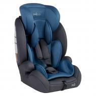 Детское автокресло в машину JOY с системой ISOFIX от 9 до 36 кг Серый/Синий (86414)