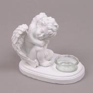 Подсвечник с ангелом Flora (26300)