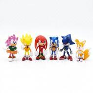 Набір фігурок Super Sonic Соник Їжачок і його друзі Перше покоління (00001)