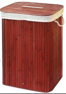 Кошик для білизни складна Stenson 40х30х60 см (R29385)