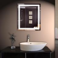 Led зеркало DecorLed с подсветкой в ванную комнату 683x800 (ZSD-003)