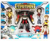 Игрушка Тобот Робот трансформер Q1906 Тритан с героями