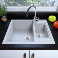 Мийка кухонна Grant Duplex Білий