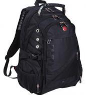Рюкзак міський Swissgear водовідштовхувальними Чорний