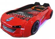 Детская кровать-машина Jaguar 212х122 Красный