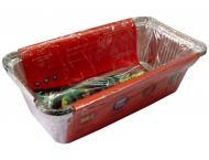 Набір контейнерів з фольги для випічки Готуйко 218х113х53 мм 900 мл 3 шт. (204031-1)