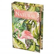 Книга-сейф Фламинго 26х17х5 см на кодовом замке (0001-005)