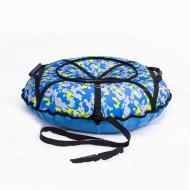 Надувные санки-ватрушка Kospa 120 см Усиленный Камуфляж (090)