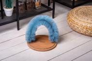 Щітка - чесалка для котів Pets Lounge Arch Gray