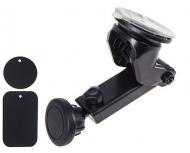 Тримач мобільного телефону PULSO UH-2013BK магнітний на присоску (UH-2013BK)