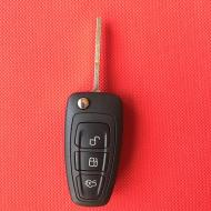 Корпус викидного ключа до FORD Fiesta/Focus/Fusion/Mondeo 3 кнопки лезо HU101