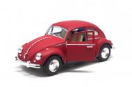 Машинка моделька Volkswagen Beetle KT5057WM Червоний