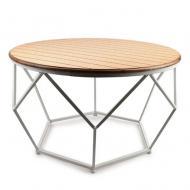 Столик металлический круглый Flora Henri 71 см (30377)