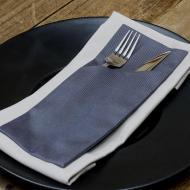 Конверт для столовых приборов Atteks Куверт Темно-Серый (2102)