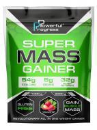 Гейнер високобілковий Powerful Progress Super Mass Gainer 2 кг Полуниця (10838-04)