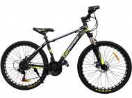 """Велосипед TopRider 611 2021 26"""" 43 см Салатовый"""