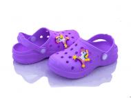 Дитячі сабо Verta розмір 24-33 Фіолетовий
