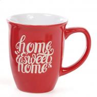 Кружка керамическая Flora Home Sweet Home 0,46 л (28327)