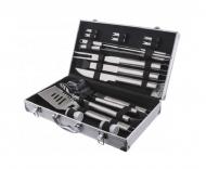 Набор инструментов для барбекю 18 пр Rainberg  в чемодане