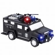 Скарбничка автомобіль банку з кодовим замком Money Box Toy для паперових грошей і монет Чорний (V154)