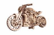 Конструктор механический 3D пазл Мотоцикл DMS Wood Trick 203 детали