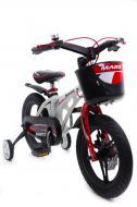 Детский легкий магниевый велосипед со складным рулем HAMMER MARS-14 от 4 лет Белый