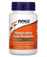 Пробіотики Now Foods для підтримки дихальної системи 60 капсул