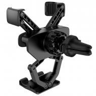 Тримач для телефону Hoco Tour gravity linkage car holder CA51A в машину Black-Grey