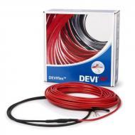 Нагрівальний кабель двожильний з суцільним екраном DEVIflexTM 18T 230 Вт 13 м