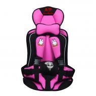 Автокресло детское бескаркасное Ann Baby рРозовый
