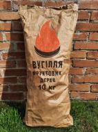 Уголь древесный из фруктовых деревьев 10 кг